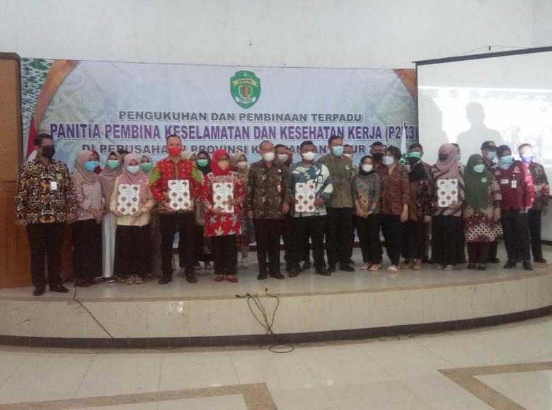 Pemprov Kukuhkan P2K3 di Perusahaan Provinsi Kaltim