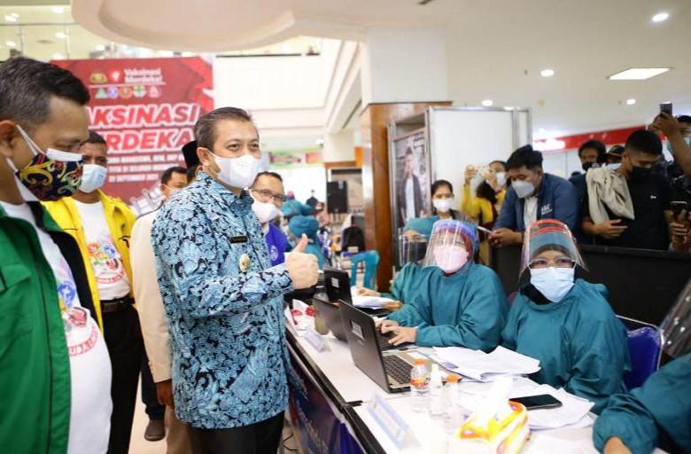 Wagub Apresiasi OKP Terlibat Kejar Target Vaksinasi Kaltim