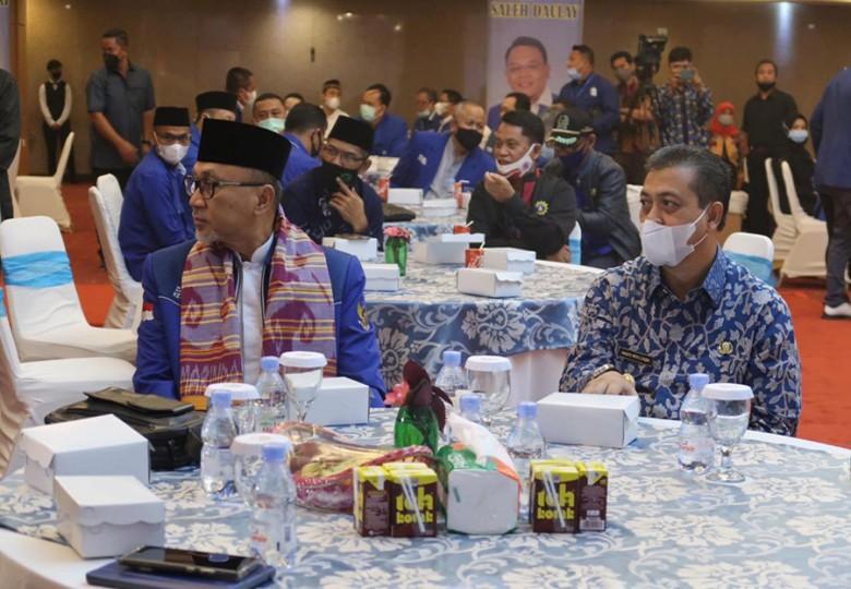 Wagub Hadiri Pelantikan DPW PAN Kaltim, Ajak  Bersama Membangun Kaltim