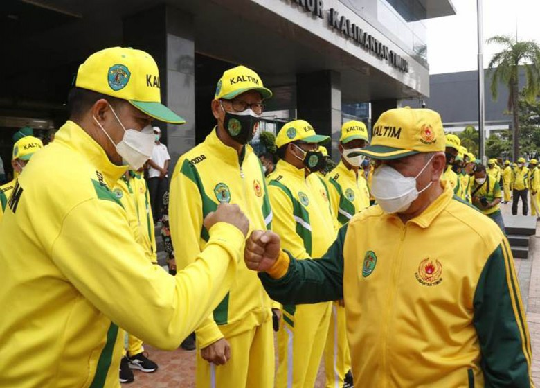 Gubernur Lepas 370 Atlet Kaltim ke Papua